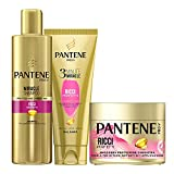 Pantene Pro-V Ricci Perfetti 1 Miracle Shampoo 250ml + 1 Balsamo Capelli 3 Minute Miracle 150ml +1 Maschera Capelli 300ml, Idea Regalo