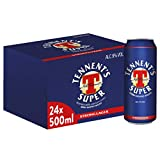 Tennent's Super Birra, Lattina - Pacco da 24 x 500 ml