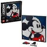 LEGO Art Disney's Mickey Mouse, Poster DIY, Decorazione Parete, Quadro Personalizzabile, Set per Adulti, 31202