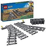 LEGO City Trains Scambi Ferroviari 6 Pezzi, Set di Accessori Aggiuntivi, 60238
