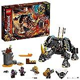 LEGO NINJAGO Creatura Mino di Zane, Set di Costruzioni e Gioco da Tavolo 2in1, 71719