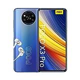 """POCO X3 Pro - Smartphone 8+256GB, 6,67"""" 120Hz FHD+ DotDisplay, Snapdragon 860, 48MP Quad Camera, 5160mAh, Frost Blue (Versione Italia + 2 Anni di Garanzia)"""