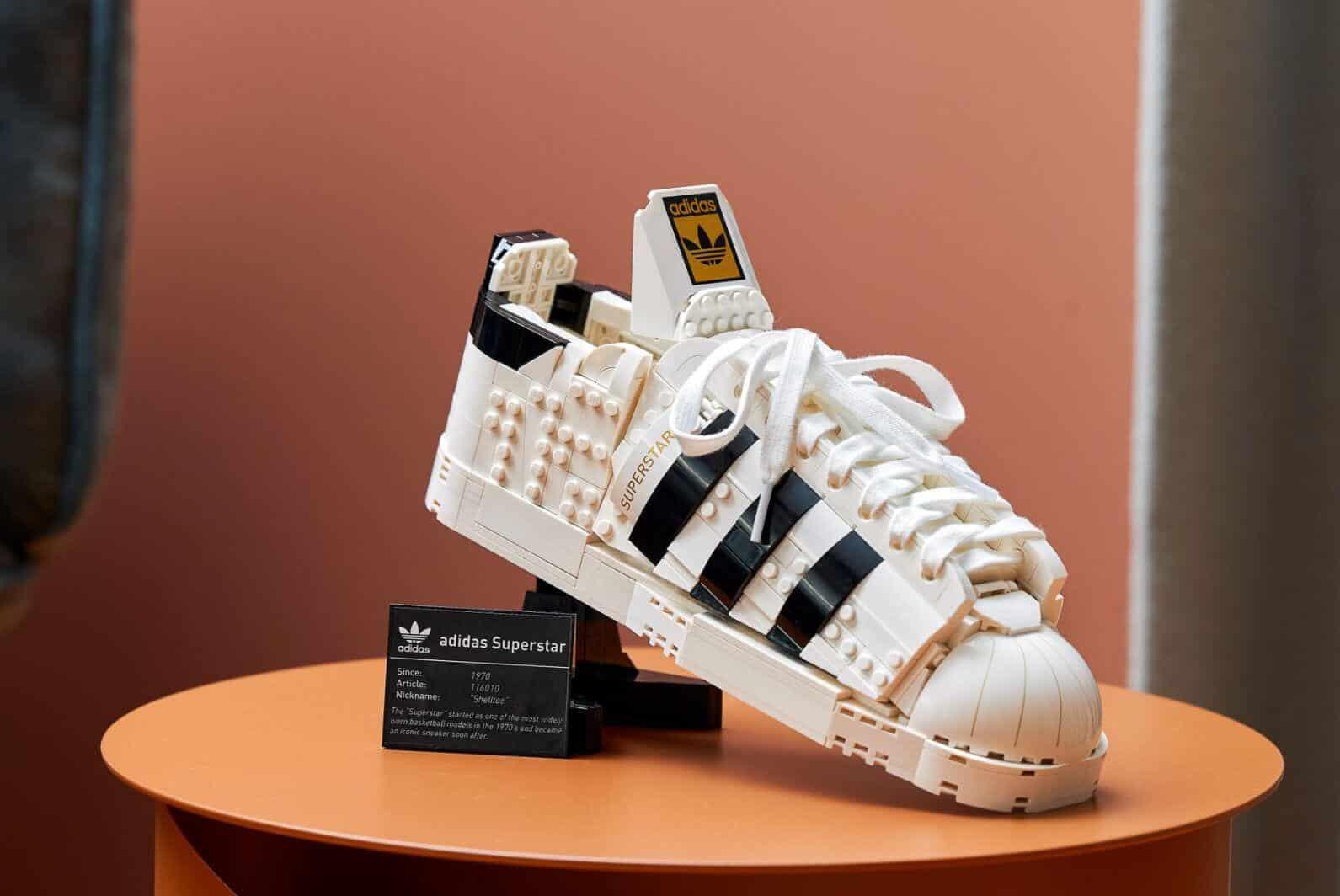 Set Lego scarpe Adidas