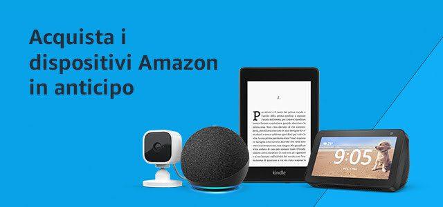 Dispositivi Amazon in offerta per il Prime Day 2021