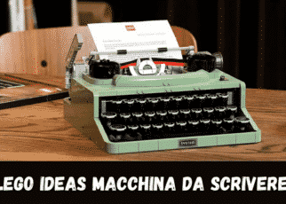 Lego ideas Macchina da scrivere