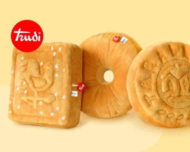 Cuscini biscotto Mulino Bianco