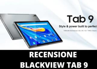Recensione Blackview Tab 9
